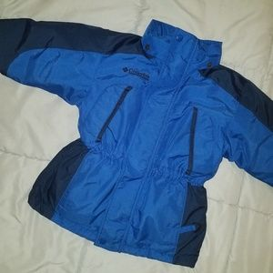 Boy's Columbia winter coat, size 4/5